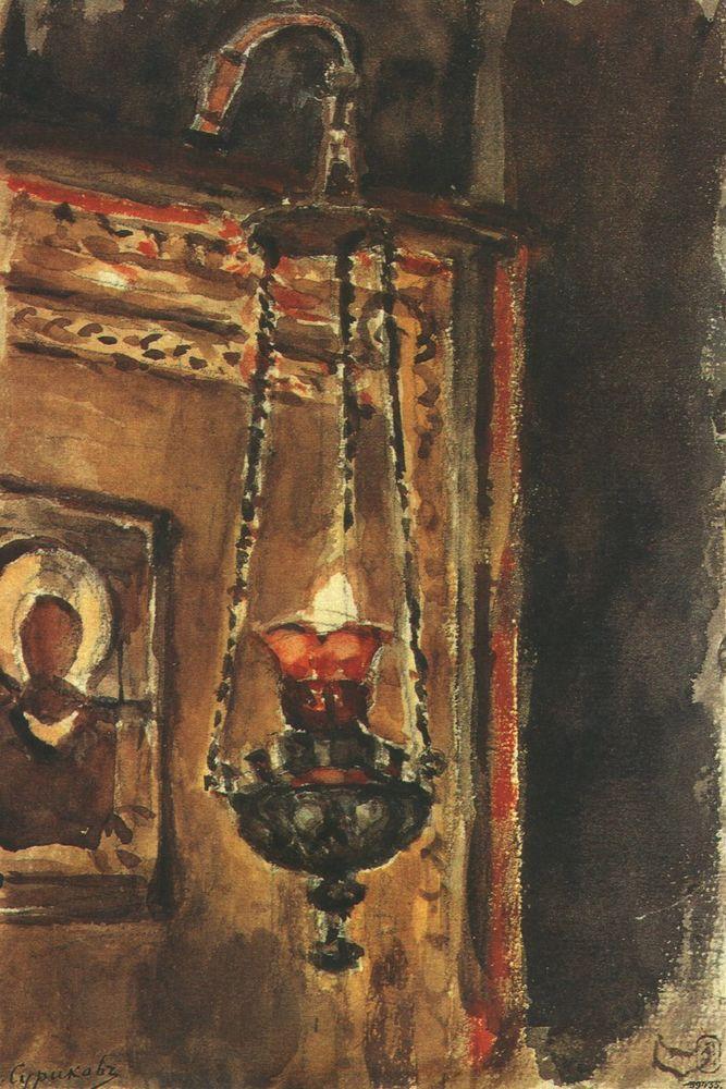Василий суриков эскизы к картинам